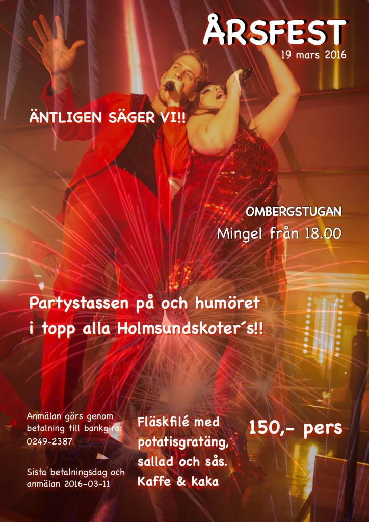 Årsfest 2016